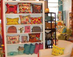 pillow display shelves