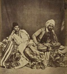 Un juif et une juive d'Algérie constantine1856.