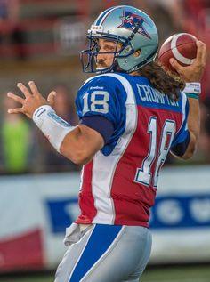 #18 Jonathan Crompton QB Montreal Alouettes June 12 2015