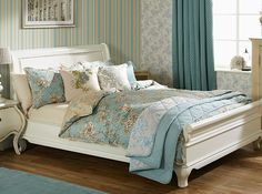 ILIV Aquitaine duvet cover sets - Duvet Covers and Duvet Cover Sets - AQUIT - This luxurious 210 Thread Count Cotton Sateen bed linen set features a classical Toile floral print with contrasting printed reverse and pleated edging detail. Chic Bedding, Luxury Bedding, Bedding Sets, Toile Bedding, 100 Cotton Duvet Covers, Duvet Cover Sets, Aquitaine, Dinosaur Toddler Bedding, Bed Linen Sets