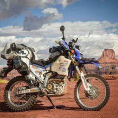 Yamaha XT225 US Flag Dirtbike Seat Cover