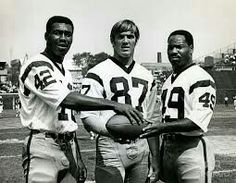 3 Redskin greats Charley Taylor, Jerry Smith and Bobby Mitchell.