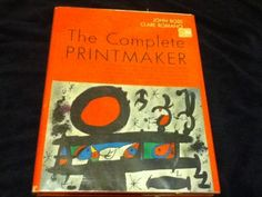 The Complete Printmaker-John Ross and Clare Romano Vintage 1972 Signed