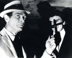 The Night Stalker premiered in the early 70's, starring Darren McGavin and it was one of my favorite shows. This is an image from the pilot which was about a vampire stalking the pretty ladies of Las Vegas.  The original script was written by Richard Matheson( I AM LEGEND).  I have recently heard that Johnny Depp is going to star in a film version.