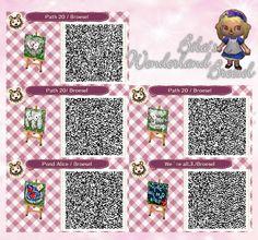 Kartenweg - Stony parth - Abenteuer im Broesel-Wonderland - Wunderland - Path - Weg - qr - ACNL - Broesel - Animal Crossing New Leaf