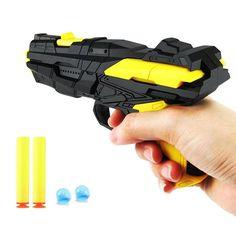 Zachte Kogel Pistool Dual Play Waterpistool Spelen Speelgoed Crystal Speelt Dual Pistolen voor Kid Willekeurige Kleur