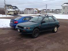 "My lifted Subaru on 29"" tires"