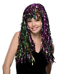 Rubie's Costume Mardi Gras Tinsel Wig, Multicolored, One ... https://www.amazon.com/dp/B0091K6WZW/ref=cm_sw_r_pi_dp_x_Om7JybCR3NXEH