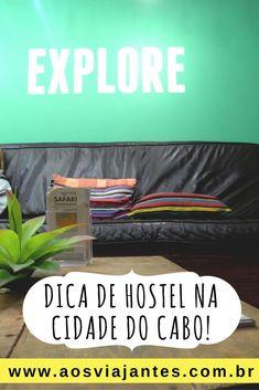 #Hostel na #CidadeDoCabo ? Fácil! Essa é uma das paraíso dos #mochileiros. Hoje trago a diga do #OnceInCapeTown ;) #viajandosozinha #viajarsozinha #viajantesolo