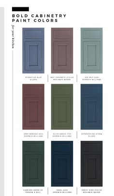 My Favorite Paint Colors for Kitchen Cabinetry (Room For Tuesday) Kitchen Interior, Kitchen Cabinetry, Favorite Paint, Kitchen Colors, Paint Colors, Favorite Paint Colors, Kitchen Cabinet Colors, Kitchen Paint Colors, Kitchen Cabinets Makeover