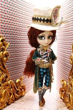 Alice In Wonderland Doll - Mad Hatter
