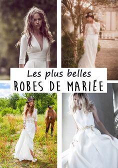 Chères mariées de 2016, la rédac' a sélectionné pour vous les plus belles robes de mariée.