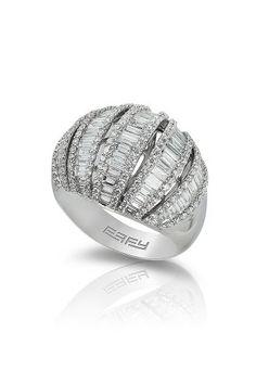 Pave Classica 14K White Gold Diamond Ring, 2.76 TCW
