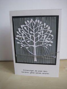 Papi(e)ris: Trauerkarte