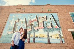 Real Engagement: Allison + Joey in Tampa // Images by Marissa Moss Photography // Via Modernly Wed (4)