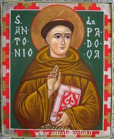 Sant'Antonio da Padova:13 giugno | iconesacremirabile