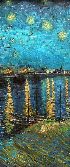 egandaa: Starry Night Over the Rhone, Vincent van Gogh.