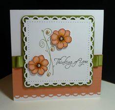 Trim Scallop Card by nitestamper - Cards and Paper Crafts at Splitcoaststampers