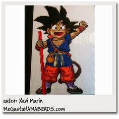 MeGustaHAMABEADS.com: Vuestras creaciones Hama Beads Parte 4 - Visit now for 3D Dragon Ball Z shirts now on sale!