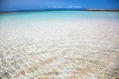 波照間島のニシ浜ビーチはベストビーチランキングでも1位を獲得したビーチ