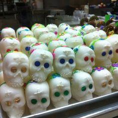Dia de los Muertos | Racks of sugar skulls