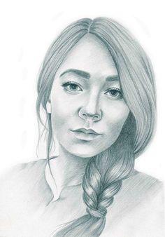 #Pencilportrait