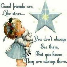 My Friends | good-friends-are-like-stars.jpg HAPPY BIRTHDAY FRED HOGLAND!!