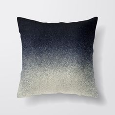 Navy Blue Colour blend, Cushion with duck feather inner by madeandmarked on Etsy