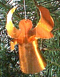 Easy christmas ornament made out of gold foil    0958-p1.gif (57338 Byte)