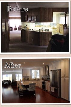 Manufactured home remodeling