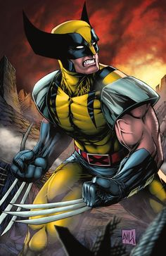 Wolverine Coloring Pages To Print. Undoubtedly, Wolverine is the favorite mutant of Marvel fans. Even his popularity surpasses other great heroes of this univer Wolverine Comics, Marvel Dc Comics, Hq Marvel, Logan Wolverine, Marvel Heroes, Comic Book Characters, Marvel Characters, Comic Character, Comic Books Art