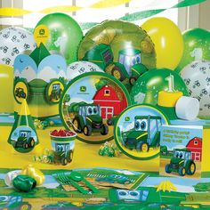Celebrate your kid\'s birthday in style with Johnny Tractor Party ...