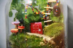 Terrarium for kids fairy house