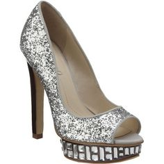 Glitzy shoes