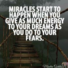 #yes #true #give your #energy to your #dreams not your #fears