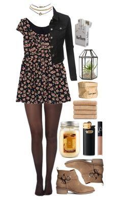 """Sugar cookies"" by silent-sorrow on Polyvore featuring Pretty Polly, LE3NO, H&M, Wet Seal, Holiday Memories, Linum Home Textiles and NARS Cosmetics"
