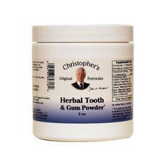 Herbal Tooth & Gum Powder, 2 oz Pwdr AED227.00 #UAESupplements