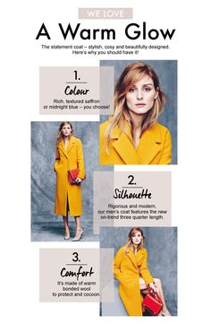 A Warm Glow - The statement coat - stylish, cosy and beautyfully designed. Here's why you should have it!