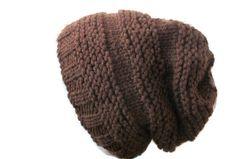 Beehive Hat, Hand Knit Beanie, Unisex