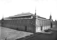 Montevideo Antiguo - Mercado de la Abundancia (a principios de siglo fue el principal abastecedor de productos)