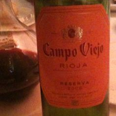 Chef Evan Lee brought this kick ass wine to dinner at Amani's. Spanish wine, made by the French.