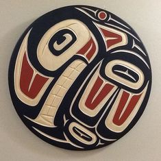 """ ORCA PANEL "" Harvey John Original Orca Panel Carving Signed & Hand Painted Native Art, Native American Art, Flash Gordon Comic, Art History Major, New York Giants Football, Haida Art, Art Students League, Tlingit, Native Design"