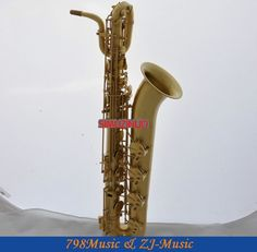 1563.08$  Watch here - http://aig6w.worlditems.win/all/product.php?id=32336132623 - Professional Yellow Antique Baritone sax Low A Saxophone High F# 2 Necks