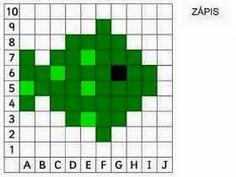 Pixel Art Lego, Knitting Charts, Knitting Stitches, Cross Stitch Designs, Cross Stitch Patterns, Cross Stitching, Cross Stitch Embroidery, Free Printable Puzzles, Computational Thinking