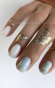 Chic Nails, Classy Nails, Stylish Nails, Trendy Nails, Chic Nail Designs, Short Nail Designs, Nail Designs For Weddings, Glitter Nail Designs, Best Nail Art Designs