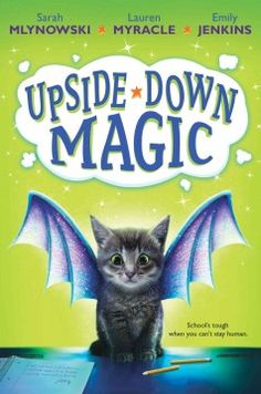 With their magic being unpredictable, Nory, Elliott, Andres, and Bax are sent to the upside-down magic room at Dunwiddle Magic School.