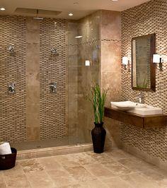 Shower setup