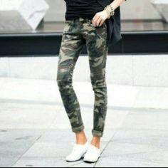 CAMO | Skinny jeans Camouflage skinnies Pants Skinny