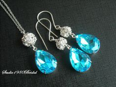 Bridal jewelry Wedding jewelry Bridal set by Studio1980Bridal, $70.00
