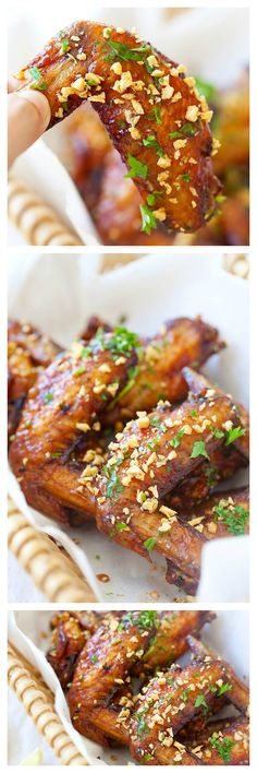 Fish Sauce Wings or Pok Pok Wings. The most addictive and stick delicious chicken wings recipe ever | rasamalaysia.com